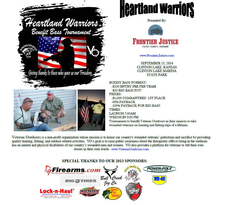 Heartland Warriors Bass Tournament