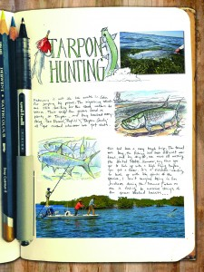 Small Tarpon Hunting mockup