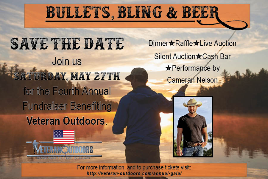 Save The Date, Veteran Outdoors Gala – May 27th 2017